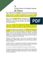 Codigo de Etica APFRA