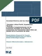 SE SLU MD OE 001 Memoria Descriptiva