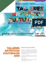 Talleres Centro Cultural 2019