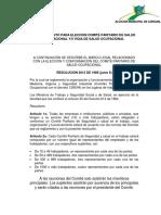 Proceso de Convocatoria y Elecciones 1