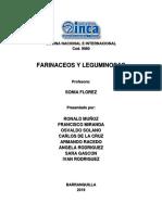 Farinaceos y Leguminosas