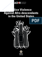 IACHR Police Violence Against Afro in US