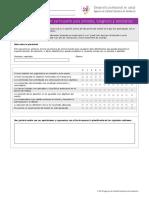 Cuestionario Opinion Participante Jornadas Congresos Seminarios