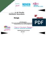 Programa Biologia11mo
