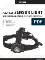 980545 KL25 Sensor Light