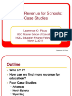 Finding Revenue for Schools