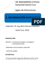 2. Informacion Estadistica