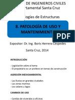 8. Patología de Uso y Mantenimiento
