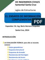 11. Ensayos de Información Complementaria