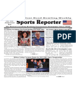 March 20 - 26, 2019  Sports Reporter