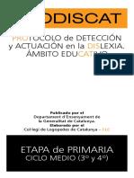 Adaptacions Metodologicas Universales Prodiscat (Dislexia i Dificultats Lectoescritura)