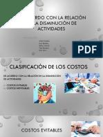 Exposicion Clasificaciòn de Los Costos-cont Admin