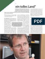 Interview Jens Bullerjahn im Wirtschaftsspiegel Sachsen-Anhalt 10/2010