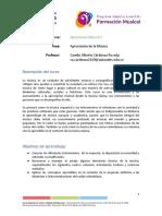 Programa Apreciación Musical 1 - CAMILO CÁRDENAS 2019-1