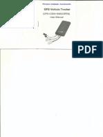 Rastreador GPS Accurate Manual Vehicle Tracker