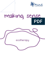 Making sense of eco therapy