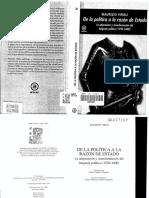 Viroli, Maurizio - De la política a la razón de Estado. La adquisición y transformación del lenguaje político (1250-1600).pdf