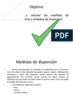 Estadística - Medidas de Dispersión
