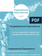 03. Organizational Dependencies Cronico