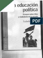 Isabelino Siede - Sólo Cap. 10.La educacion politica.pdf