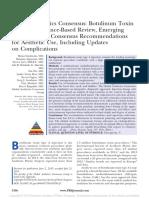 Global Aesthetics Consensus Botulinum Toxin