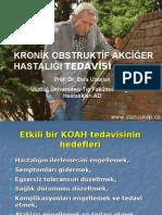 KRONİK OBSTRUKTİF AKCİĞER HASTALIĞI TEDAVİSİ (Sunum) -www.stetuskop.com
