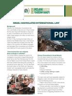 "IHH Newsletter ""ISRAEL HAS VIOLATED INTERNATIONAL LAW"""