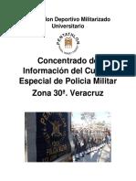 Concentrado de Informacion del Cuerpo de PM Zona 30a. Veracruz Version II.pdf