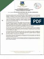 Ley Municipal 050