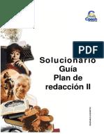 Solucionario Guía Plan de Redacción I