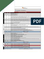 Cronograma DT Turma K 2019.1