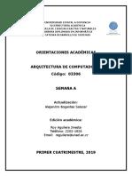 Arquitectura de Computadores 3306(v)