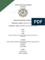 Informe de Desarrollo Del Proyecto