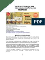 Educación popular- Documento de Síntesis - Talleres 19 de Octubre 2013