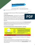 governmentadda.com-LIC AAO Study Material Books PDF Free Download Now.pdf