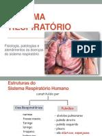 Estruturas e fisiologia do Sistema Respiratório