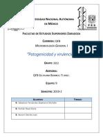 Informe 9 factores de virulencia  micro