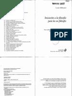 Althusser, L. - Iniciación a la filosofia para los no filósofos.PDF