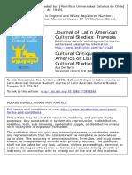 Ana Del Sarto - Cultural Critique in Latin America or Latin American Cultural Studies