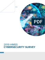 2019 HIMSS Cybersecurity Survey Final Report