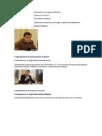 Ministerios de Bolivia y funcionarios con rango de Ministro1.docx