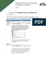 Interfaz y Comandos Del Software Cad