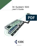 KIRK System 500 User's Guide