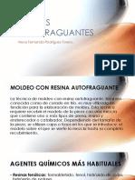 RESINAS AUTOFRAGUANTES