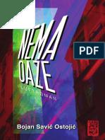 Bojan Savić Ostojić - NEMA OAZE (ogledni odlomak)