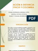 Educación a Distancia en Boyacá y Colombia.exposicion