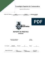 Reporte de Practica Del Sumador.