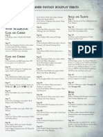 WFRP 4th Edition Errata