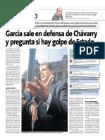 García Defiende a Chavarry en Peru 21