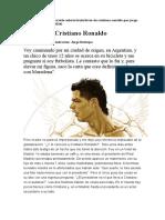 A Favor de Cristiano Ronaldo-Jorge Valdano